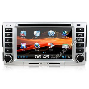 Car DVD GPS Navi Headunit Autoradio for Hyundai New Santa FE 2006 2011