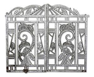 Art Deco Cast Iron