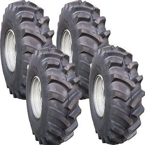 30x8 00 12 Polaris ATV Tires Rim Wheel Swamp Buggy Mud Bog Crawdad Farm AG R 1