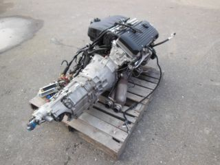 01 06 BMW E46 M3 S54 56K Miles Complete Engine and SMG Transmission