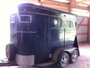 Two Horse Enclosed Trailer