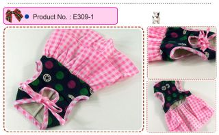 Dog Cat Clothes Layered Skirts 2 Tiered Dresses E309