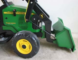 Peg Perego John Deere Loader Tractor 12V Power Wheels Hardly Used New Battery PU
