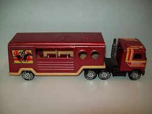 1980 Buddy L Mack Truck and Horse Trailer Vintage