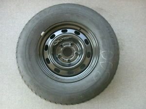 "Dodge RAM 1500 Factory 17"" Steel Spare Wheel Tire Goodyear"