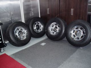 Original Hummer H2 Chrome Wheels Rims Tires Very Clean