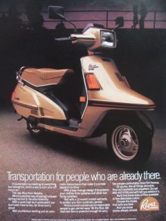 1983 Yamaha Riva Scooter Moped Motorcycle Ad