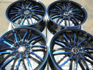 18 Blue Wheel Rim Honda Accord CRV Element Nissan Rogue Murano Maxima Altima MDX