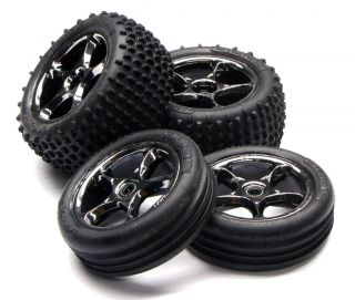 Traxxas Bandit VXL Tires Front Rear Wheels