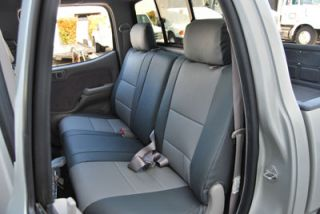 Toyota Tacoma 2005 2011 s Leather Custom Fit Seat Cover