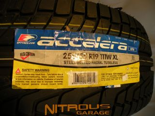 2 New Accelera Iota Tires Land Range Rover HSE LR3 LR4 255 55 19 Factory Size