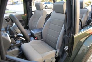 Jeep Wrangler 2007 2012 s Leather Custom Fit Seat Cover