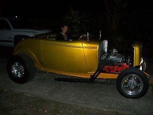 1932 Ford Hiboy Roadster Hot Rod Street Rod Convertible