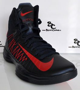 Nike Lunar Hyperdunk 2012 Mens Basketball Shoes Flywire New USA Navy Red