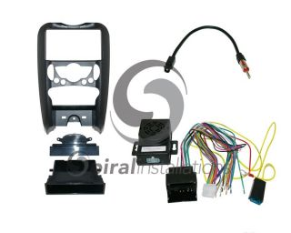 Mini Cooper 2007 Up Radio Stereo Installation Dash Kit Combo WH Int At