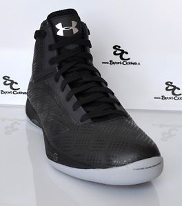 Under Armour Micro G Torch Mens Basketball Shoes UA Blackout Black Grey New