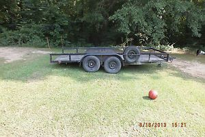 16 Foot Tandem Axle Utility Trailer