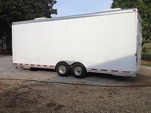 29 Foot Enclosed Car Trailer All Aluminum Race Car Trailer