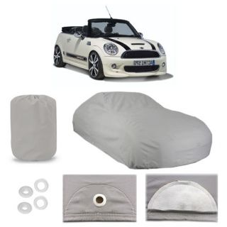 Mini Cooper 6 Layer Car Cover Fitted in Out Door Water Proof Rain Snow Sun Dust