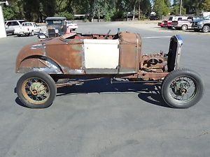 1930 Ford Model A Roadster Rat Rod Hot Rod