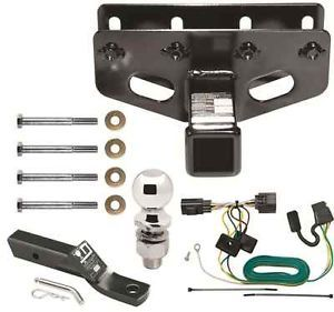 2007 2013 Jeep Wrangler Unlimited Complete Trailer Hitch Package Class III