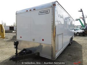 2005 Haulmark Toy Hauler Enclosed ATV Trailer Ramp Door Lighting T A Sled Cargo