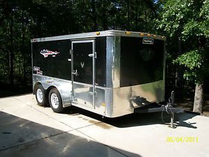 Haulmark Enclosed Motorcycle Trailer 7x12