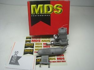 New in Box MDS 40 Gas RC Model Airplane Engine Nitro Plane Motor with Muffler