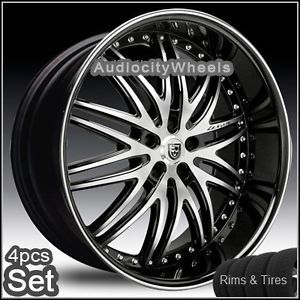 26inch Lexani Wheels and Tires 300C Magnum Charger Rims