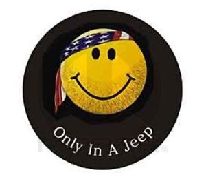 2012 Jeep Wrangler Spare Tire Cover