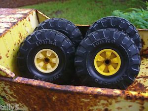 1960s Tonka Dump Truck 4 Wheels Tires XMB 975 Repair Restoration Repurpose