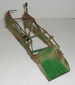 1 16 Carter Eska John Deere Farm Toy Tractor Loader for Parts or Restore