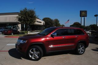 13 Jeep Grand Cherokee Overland Warranty Navi Leather Pano Roof Heated Leather
