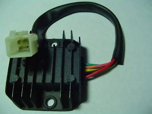 Scooter Moped Voltage Regulator Rectifier GY6 5 Wire
