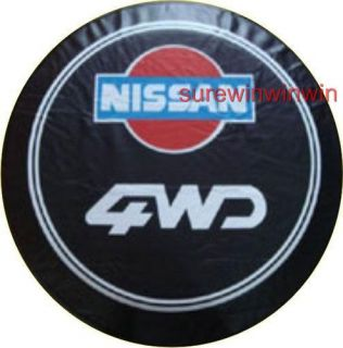 Nissan Car Spare Wheel Tyre Tire Cover Rear 15 Inch