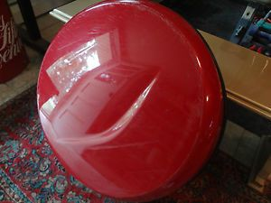 Toyota Rav 4 Spare Tire Cover for Rear Hard Shell Red 17 in Wheel Cover