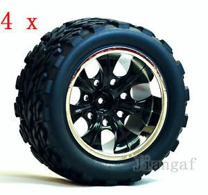 4X RC 1 10 Monster Bigfoot Car Truck Wheel Rubber Tyre Tire R165YQ1