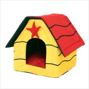 Indoor Dog House Pet House Tent Puppy Carrier Bed H