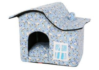 Indoor Dog House Pet House Tent Puppy Carrier Bed B