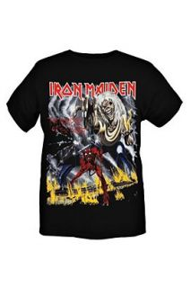 Iron Maiden The Number Of The Beast T Shirt 2XL