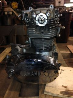 1979 Yamaha XS 650 Engine Motor and Frames