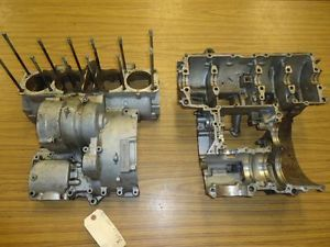 1982 Yamaha XJ650 XJ 650 Maxim Top Bottom Engine Cases Motor Case