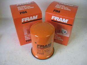 1960 1969 Chevy Corvair Fram PH4 Oil Filter Set Pair 2 Two Fits AC PF4