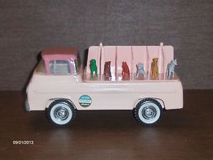 Vintage 1960's Nylint Kennels Ford Pressed Steel Truck No 6200 w Dogs