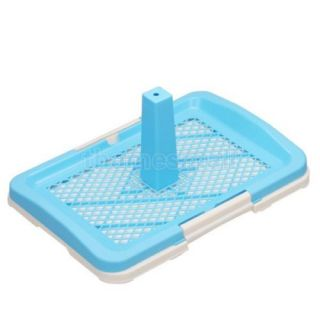 Pet Cat Dog Puppy House Indoor Cleaning Plastic Potty Tray Toilet Training Tool