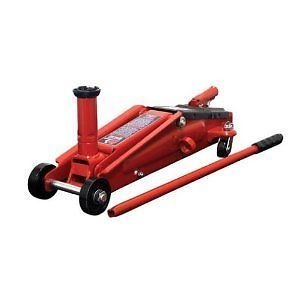 3 Ton Pro Heavy Duty Service Car SUV Truck Floor Jack w Wheel Fast Shipping New