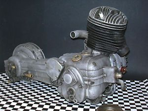 1955 Innocenti Lambretta LD150 Mark II Engine Motor Transmission LD 150 125 MK2