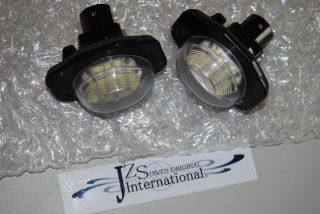 2010 2011 2012 2013 Toyota Sienna Trunk Full LED License Lamp Unit JDM
