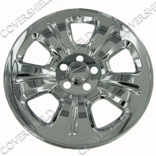"4 PC Set 03 07 Subaru Forester 16"" Chrome Wheel Skin Hubcaps Covers Hub Cap"