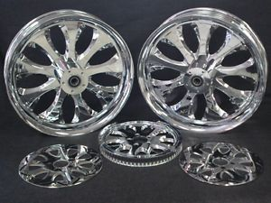 Custom Billet Wheel Set Parts for Harley Chopper
